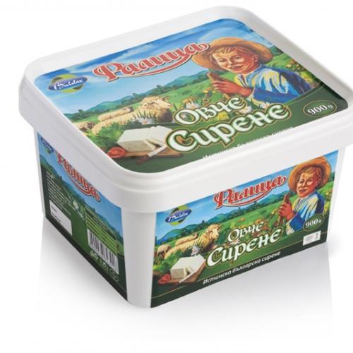 Овче сирене PVC кутия-  900 гр