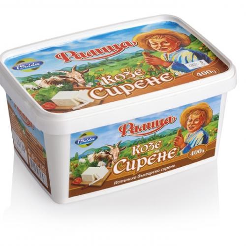 Козе сирене PVC кутия-  400 гр